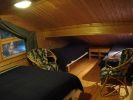 Sleeping alcove above sauna